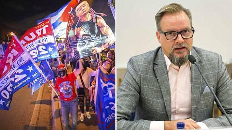 Mutta mitä Trump puheellaan viestitti ja oliko hänen esiintymisensä hillitympi kuin aikaisemmin? Kysyimme asiaa Tampereen yliopiston puheviestinnän professori Pekka Isotalukselta.