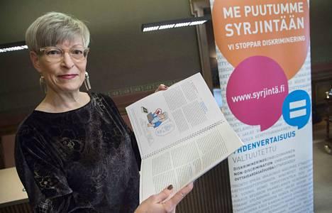 Kirsi Pimiä nousee sisäministeriön kansliapäälliköksi yhdenvertaisuusvaltuutetun paikalta.