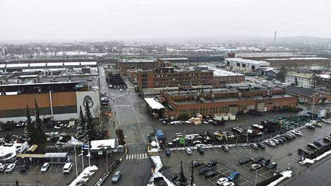Metso Minerals työllistää Hatanpäällä 900 henkilöä. Yhtiö käy Tampereen kaupungin kanssa neuvonpitoa mistä löytyisi uusi tontti.
