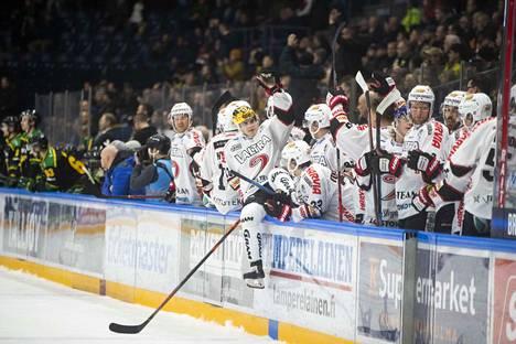 Julius Nättinen on ollut hurjassa iskussa jääkiekkoliigassa. Keskiviikkona hän tasoitti pelin 1–1:een.