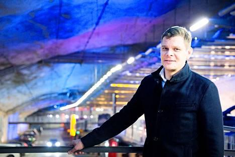 Toimitusjohtaja Antti Marttila kertoo, että Hämpin parkista on tullut suosituin pysäköintikohde.