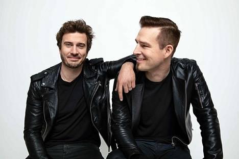 Vielä Sebastian Rejmania ja Darudea hymyilyttää, mikä mahtaa olla tilanne tiistai-iltana? Suomi esiintyy Euroviisuissa kolmantena.