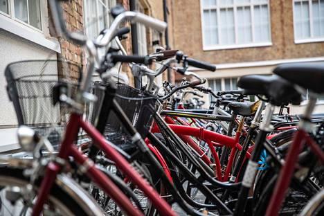 Pyöräkauppa on käynyt kesällä vilkkaasti.