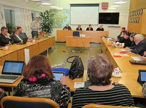 Kuhmoisten valtuusto päätti maanantaina uuden yhtenäiskoulun paikasta.