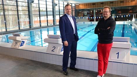 Uudesta lämmitysratkaisusta kertoivat Vatajankoski Oy:n Pekka Passi ja Akseli Reho jo huhtikuussa Kankaanpään Seudulle.