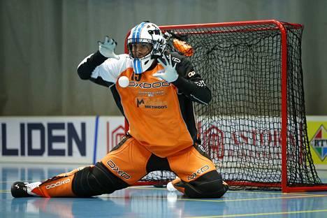Arvid Vonk oli puolustuksen tuki ja turva lauantain voitossa.