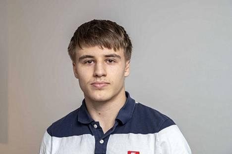 Judon ohella Luukas Saha opiskelee Tampereella kauppatieteitä. Tulevaisuudessa työ markkinoinnin parissa kiinnostaisi.