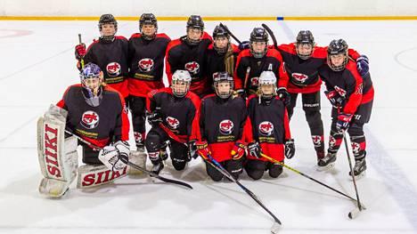 KPK:n tytöt pelasivat kaksi tasapeliä ja yhden voiton U18 tyttöjen jääkiekkoturnauksessa Kannonkoskella.
