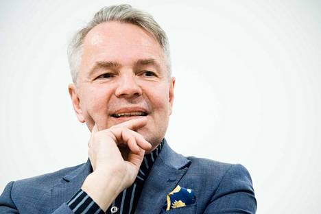 Ulkoministeri Pekka Haavisto (vihr.) vastasi ulkoasianhallinnon ammattijärjestön tekemiin kysymyksiin.