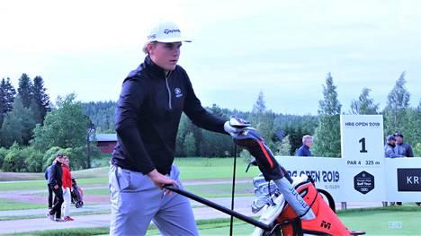 Sami Välimäki on aloittanut ensimmäisen kautensa Euroopan-kiertueella.