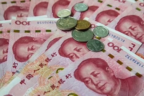 Juanin valuuttakurssi on nyt noin 7 juania yhdysvaltojen dollaria kohden.