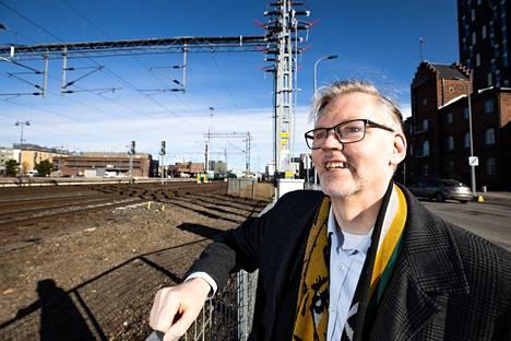 Tampereen henkilöratapihan uudistus on Pekka Petäjäniemen mukaan yksi pirkanmaalaisittain merkittävistä hankkeista, joiden etenemistä kannattaa seurata.