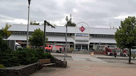 Pelastuslaitos sai hälytyksen tulipalosta lauantaina kello 15.23.