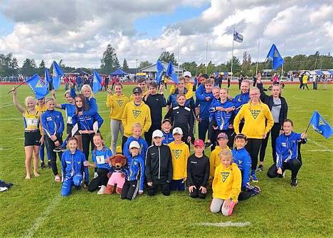 Nakkilan Viren seuracupjoukkue onnistui hienosti ja sijoittui Seuracupin valtakunnallisessa finaalissa toiselle sijalle.