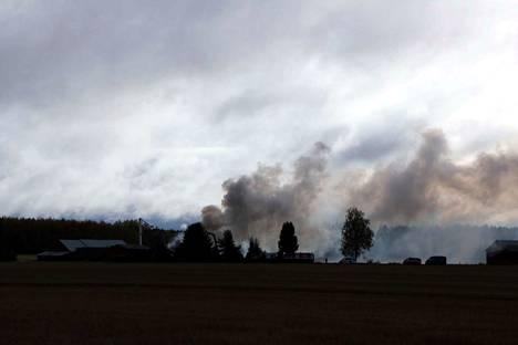 Talon asukas kuoli omakotitalon rajussa tulipalossa keskiviikkona.