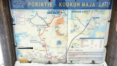Koukun ladut Nokian pohjoispuolella ovat hiihtäjien suosiossa. Etelä-Nokialta vastaavanlainen latuverkosto puuttuu toistaiseksi.