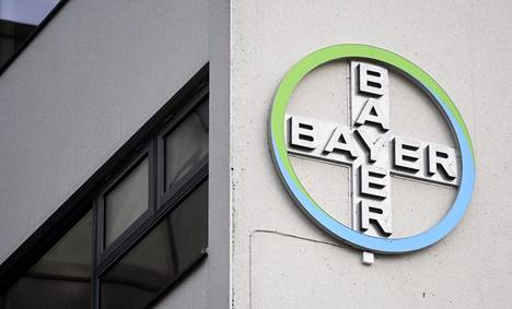 Lääkeyhtiö Bayer aikoo rakentaa uuden tehtaan Turkuun. Kuva yhtiön konttorilta  Espoon Keilaniemessä marraskuulta 2019.