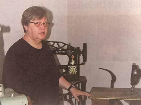 Kenkäteollisuus on yksi Kankaanpään kaupunginmuseon perusteemoista. Museonjohtaja Leena Sivula sanoi, että koneet ovat toimivia.