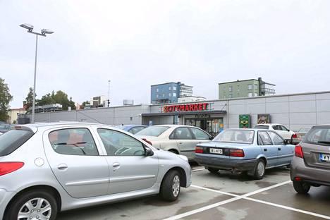 Lakonuhka koskee kaikkia Citymarketeja. Kuva Valkeakoskelta.