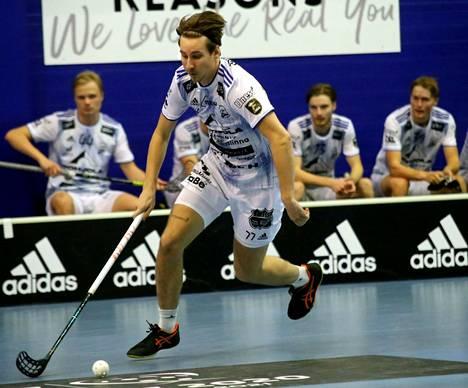 Miska Mäkinen teki KrP:n voittomaalin Espoossa.