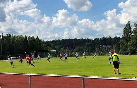 Pato ja JanPa kohtasivat lauantaina Tervakoskella. JanPa vei ottelusta sarjapisteet maalein 0-4.