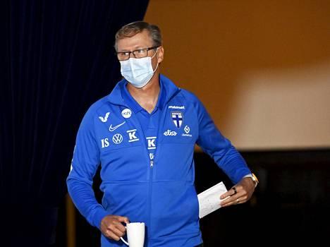 Markku Kanervan EM-kisamiehistö sai sinettinsä tiistaina.