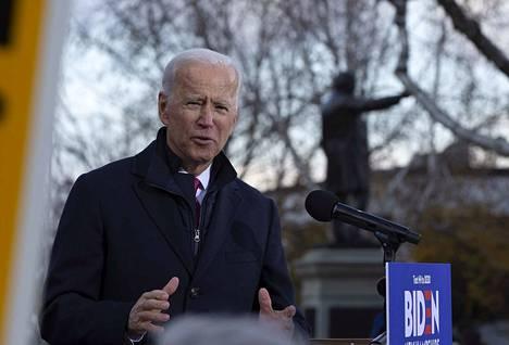 Entinen varapresidentti Joe Biden pyrkii nyt presidentiksi ensi vuoden vaaleissa.