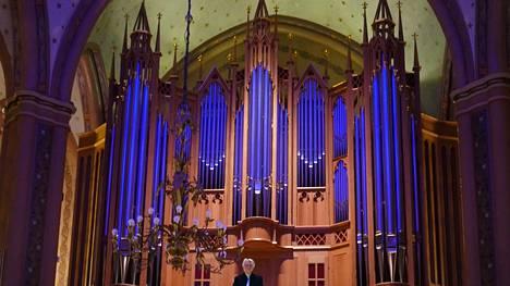Daniel Roth konsertoi Keski-Porin kirkossa tiistaina. Pori Organ -festivaali jatkuu sunnuntaihin 10.10. saakka.