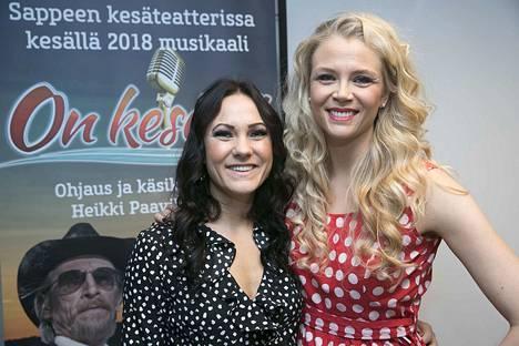 Susanna Laine (oik.) muistetaan myös esimerkiksi Sappeen kesäteatterista, jossa hän esiintyi viime kesänä yhdessä Mira Luodin kanssa On kesäyö -esityksessä.