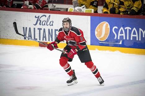 Antti Tuomiston pelipaita pysyy punaisena NHL:ssä, jos hän joskus siirtyy pelaamaan hänet varanneen Red Wingsin paitaan.
