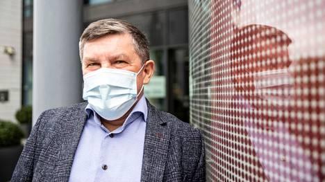 Taysin johtajaylilääkäri Juhani Sand