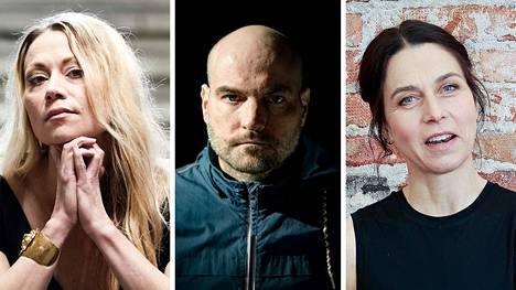 Anna Eriksson, Kerkko Koskinen ja Elina Brotherus saivat apurahoja.