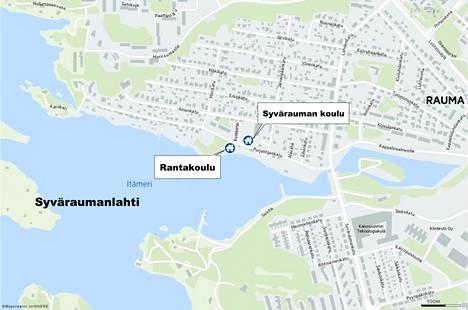 Rauma myi Syvärauman koulukiinteistön. Aiemmin se on jo myynyt viereisen Rantakoulun.