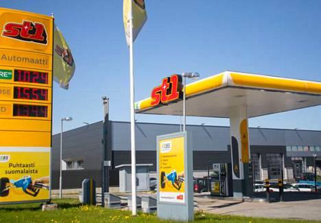 Huoltoasemaketju St1 vahvistaa toimintaansa Pirkanmaalla. Kuvituskuva.