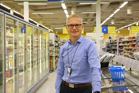 Osuuskauppa Hämeenmaan toimitusjohtaja Olli Vormisto kertoi Tervakosken S-marketin uudistuksesta elokuussa.