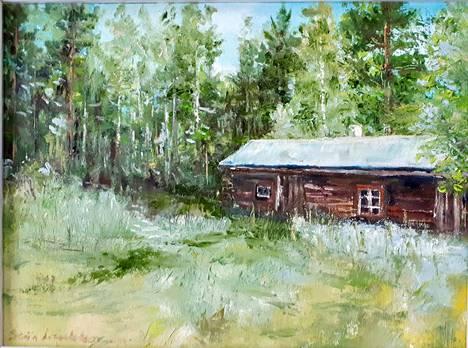 Vanha pihapiiri on tunnelmakuva Kurkelasta Kuhmoisista. Se toi tekijän mieleen lapsuuden kesät mummolassa.