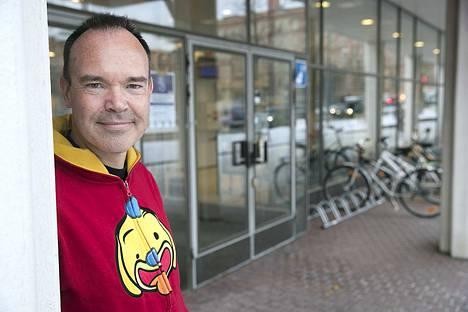 Liikemies Peter Vesterbacka toimii Tallinnan ja Helsingin välisen tunnelin puuhamiehenä.