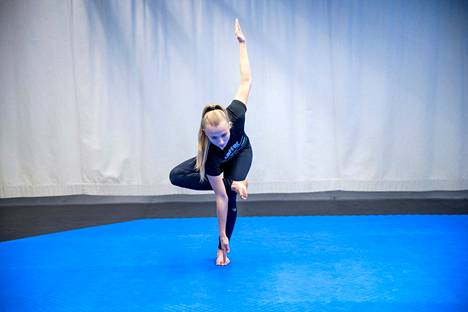 Titta Keinänen valittiin karaten SM-kisojen parhaimmaksi naisurheilijaksi.
