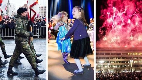 Aamulehti näyttää itsenäisyyspäivänä suorana muun muassa valtakunnallisen paraatin, lasten Tampere-talon tanssiaiset ja Frenckellin aukion kansanjuhlan.