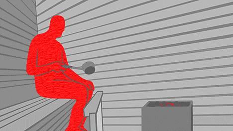Sauna kannattaa pestä perusteellisesti ainakin pari kertaa vuodessa.