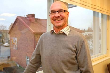 Kankaanpään kaupungin elinkeinojohtaja Marko Rajamäki on iloinen uusista uutisista.