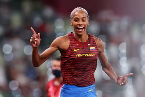 Yulimar Rojas loikkasi uuden maailmanennätyksen.