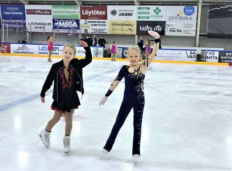 Melissa Rasinen ja Emma Mäkelä kilpailevat ihan ensimmäistä kertaa sunnuntain Tähtikisoissa.