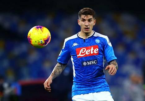 Kuvassa SSC Napolin pelaaja Giovanni Di Lorenzo.