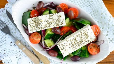 Kreikkalaisen keittiön anti on varsin kasvispitoista ja terveellistä.