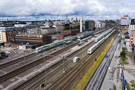 Ratavaurio vaikuttaa myös Tampereen kautta kulkeviin juniin.