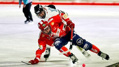 Narukerän Ville Raukko on iskenyt kaksi maalia tällä kaudella.