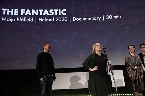Maija Blåfieldin The Fantastic voitti kotimaisen kilpailun alle 30-minuuttisten sarjan ja kisaa näin myös Oscar-palkinnosta.