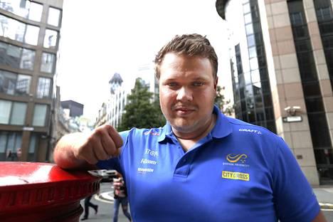 Daniel Ståhl nakkasi komean kiekkokaaren.