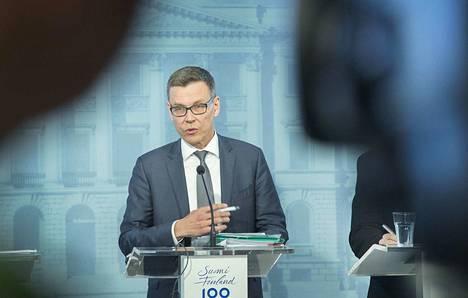 VM:n ylijohtaja, ennustepäällikkö Mikko Spolander.